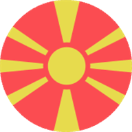 Flag of North Macedonia